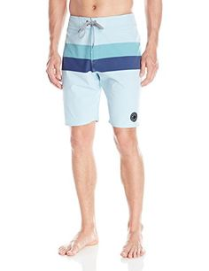 6f5570645c3 Matix Mens Phases Boardshort Light Blue 34 -- Check this awesome product by  going to the link at the image. Nice Clothes Forever · Men Swimwear