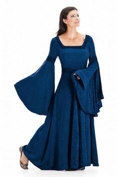 HolyClothing Arwen Square Neck Renaissance Medieval Princess Gown Dress - 4X-Large - Sapphire Blue HolyClothing http://www.amazon.com/dp/B00IZ08OZ0/ref=cm_sw_r_pi_dp_DPz5tb08BPS9A