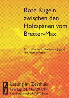 Lesung im Zeythuis www.emodermatt.ch