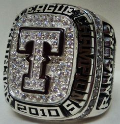 2010 Texas Rangers Ring