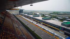 Main straight and pit lane at Formula One World Championship, Rd3, Chinese Grand Prix, Preparations, Shanghai, China, Thursday 14 April 2016. © Sutton Motorsport Images