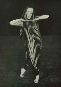 Mary Wigman, 1925