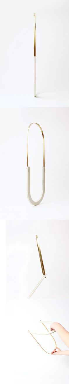 Private Ice Necklace / Corian, gold plated brass www.marinastanimirovic.com Royal College of Art 2013
