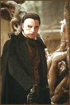 One day, I will host a masquerade ball and I will dress as Christine and see if he shows up. Phantom of the Opera.