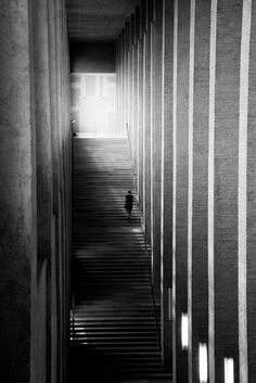 Skander Khlif Captures Architectural Images Representing The Silence at Munich's Museums #inspiration #photography