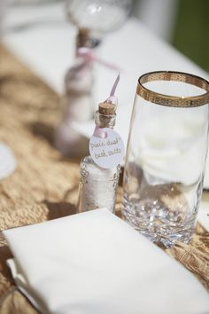 """Pixie Dust guest gifts for a """"Once Upon a Time"""" Theme baby shower Photo By Crystal Worley Photography"""