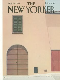 The New Yorker - Monday, July 23, 1984 - Issue # 3101 - Vol. 60 - N° 23 - Cover by : Gretchen Dow Simpson