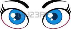 Resultado de imagem para olhos desenho animado