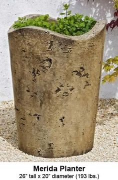 Find This Pin And More On Outdoor. Campania International Merida Cast Stone  Planter ...