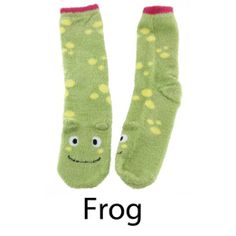 Super Soft Warm Microfiber Fuzzy Animal Socks - Value Pack at Amazon Women's Clothing store