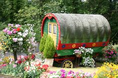 <3 Gypsy Heaven ~ Bohemian gypsy caravan, romantic camping ~ The beauty is in simplicity! ~ I love it! What a beautiful place to rest awhile and be alone....