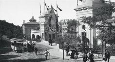 La entrada del casino de la Arrabassada en 1911