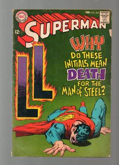 Superman (Vol.1) #204 Silver Age DC Comic 1968 Neal Adams GD