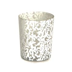 Beautiful lace votives! Buy now at  https://www.etsy.com/listing/233269036/lace-candles-lace-wedding-candle-votives