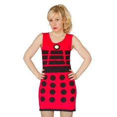 EXTERMINATE!! your halloween costume competition with this $35 Dalek dress.