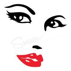 Sticker Chip de femeie Negru&Rosu  Ideal pentru a crea un decor deosebit.   Stickerul decorativ de perete Chip de femeie este potrivit pentru decorarea si infrumusetarea locuintei, dar si a unui birou sau a unui salon de infrumusetare. #beauty #beautygirl #beautysalon #beautysalondesign #beautywoman #graphicdesign #graphic_art #salondesign  #salondecor #wallart  #wallartwork #wallartdecor #wallartdesign #vinyl #vinyldecals #salondeinfrumusetare #salondecoafura #stickerdesign #decalsticker Terrier, Graphic Design, Stickers, Abstract, Instagram, Art, Summary, Art Background, Kunst