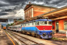 Explore Croatia by train with the Croatia Rail Pass. Train travel in Denmark is the best way to see the country side of Croatia and cities. Bratislava Slovakia, Electric Locomotive, Central Station, By Train, Photo Effects, Train Travel, Eastern Europe, Czech Republic, Croatia
