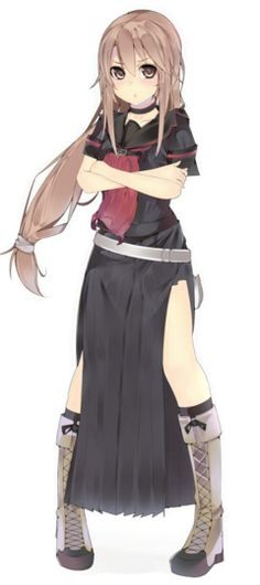 Personally, I think Ookamisan looks a bit like Asuna from Sword Art Online. I can't be the only one...Am I?