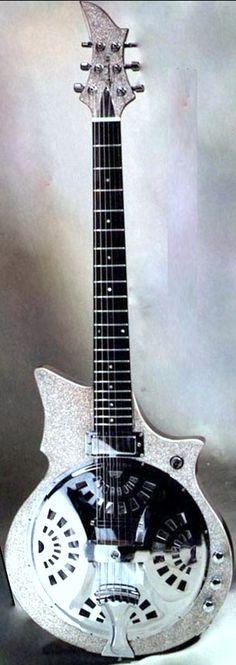 Philippe Dubreuille Resophonic Guitar --- https://www.pinterest.com/lardyfatboy/