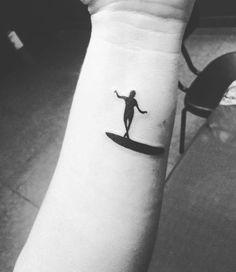 Resultado de imagem para surf tattoo