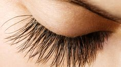 Recipe for longer lashes: 2 parts vaseline, 1 part coconut oil, 1 part castor oil