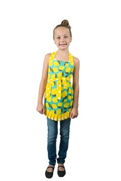 Lemon Child Apron by Simply Whimsical