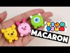 Tsum Tsum Macarons 3 in 1⎪polymer clay tutorial