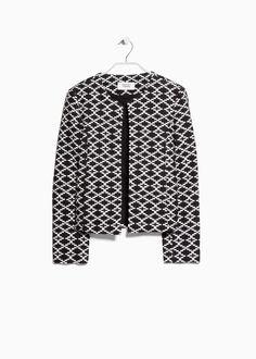 Ethnic pattern jacket - Women 275d0f9956