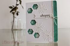 Christmas card for Clearly Besotted Challenge #14. I used products by #simonsaystamp and #clearlybesotted