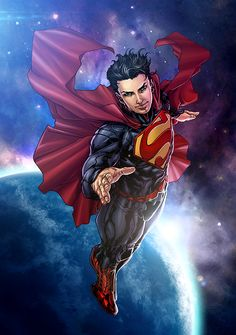 Superman New 52 with HMT Studios by harveytolibao.deviantart.com on @DeviantArt