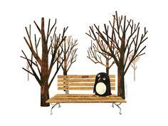 """Met a Penguin in the Park"" by Greg Abbott"