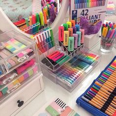 Visit heaven of pens by clicking our shop link Picture cred.- Visit heaven of pens by clicking our shop link💕 Picture credit: Visit heaven of pens by clicking our shop link💕 Picture credit: – - Cool School Supplies, School Supplies Organization, Desk Organization, College School Supplies, Stationary Store, Stationary School, Stationary Supplies, School Stationery, Study Room Decor