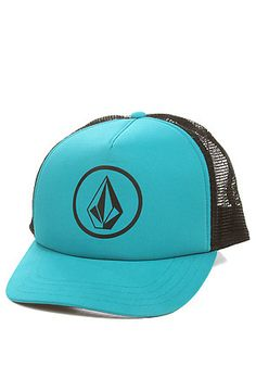 Volcom Women s The Circle Stone Cheese Cap in Teal 1b682a84f22e