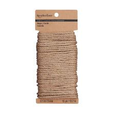 Recollections Craft It Jute Rope, 3mm