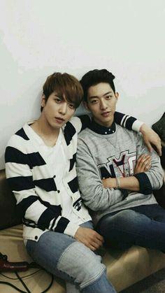 Yonghwa and Jungshin
