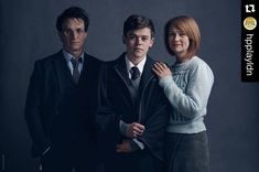 Regram @hpplayldn  Harry Albus and Ginny Potter from the new play Harry Potter And The Cursed Child. First public preview is a week today! #HarryPotterPlay #CursedChild by harrypotterfilm