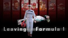 Leaving Formula 1. Michael Schumacher