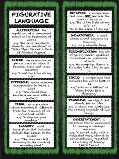 Upper Elementary Students will LOVE these Figurative Language Bookmarks! They will help to reinforce the types of language your students encounter while reading a variety of different types of literature. You can use them year round! FREEBIE