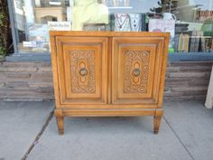 Mid Century Modern Nightstand or Cabinet in Walnut Los Angeles by HouseCandyLA, $99.00