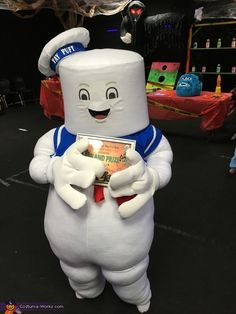 Stay Puft Marshmallow Man - 2016 Halloween Costume Contest