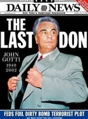 """1992 - John Gotti convicted - Born on October 27, 1940, in the South Bronx, New York, John Gotti would face run-ins with the law several times, including a four-year prison term for manslaughter, before becoming head of the Gambino crime family. Nicknamed """"Teflon Don"""" for his ability to remain free, Gotti was eventually convicted on multiple criminal counts and sentenced to life in prison. He died on June 10, 2002."""