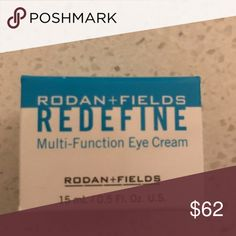 Rodan and Fields Multifunction Eye Cream Reduce the appearance of puffiness and dark eye circles. Brand new. Rodan and Fields Other