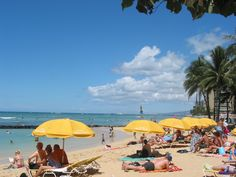 Waikiki Beach photo by Michele Nelson