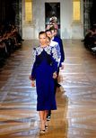 loving the blue in Stella McCartney collection