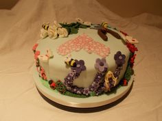 Fairies at the bottom of the garden by Scrumptious Cakes Minehead