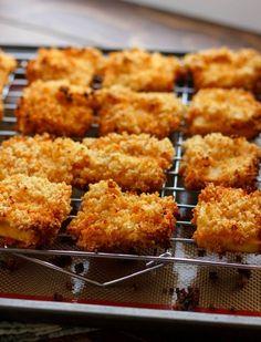 quinoa-crusted tofu nuggets