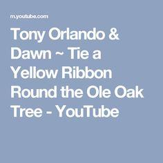Tony Orlando & Dawn ~ Tie a Yellow Ribbon Round the Ole Oak Tree - YouTube