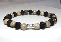 Mens Stone Bracelet – BlueStoneRiver