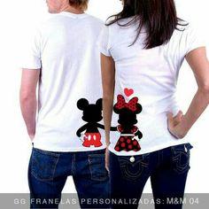 T shirt painting Disney Shirts For Family, Couple Shirts, Family Shirts, Kids Shirts, Cool T Shirts, Couple Outfits, Disney Outfits, Shirt Print Design, Shirt Designs
