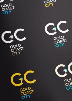 Gold Coast CIty Rebrand Concept #2 by Matt Vergotis, via Behance